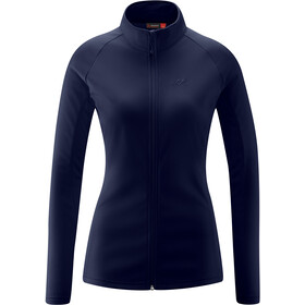 Maier Sports Ines Microfleece Jacket Women, night sky